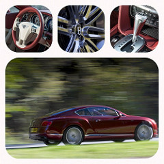 bentley continental GT drive